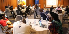 AfWA Participates in the National Workshop for Validating the Observatory for Water Quality's Concept Note in Côte d'Ivoire