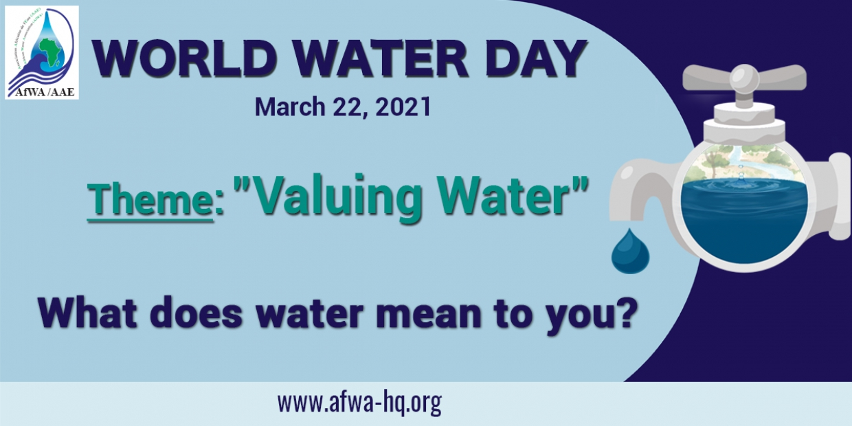 Let's celebrate World Water Day by answering the question