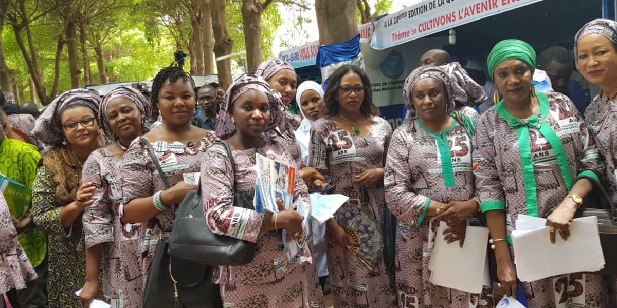 THE MALIAN NETWORK OF PROFESSIONAL WOMEN IN WATER AND SANITATION, RAISES AWARENESS AMONG MALIANS ABOUT ENVIRONMENTAL CONSERVATION